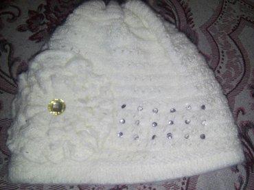 Теплая шапка. б/у польша. на дев. 1-2г. в Бишкек