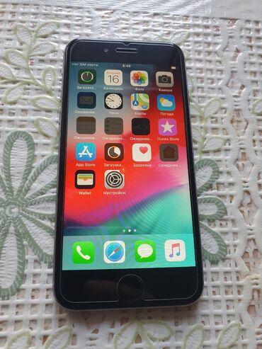 ноутбук айфон в Кыргызстан: Б/У iPhone 6 32 ГБ Серый (Space Gray)