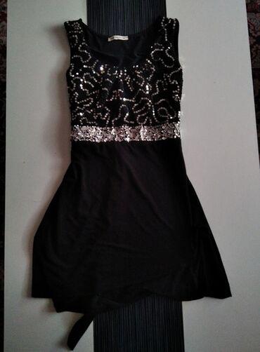 50 oglasa: Predivna haljina sa sljokicama i cirkonima. Bez ostecenja, brutalna