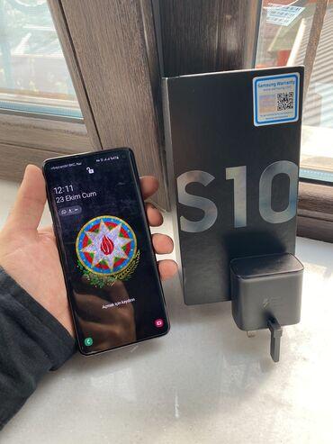 İşlənmiş Samsung Galaxy S10 128 GB qara
