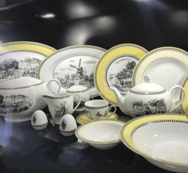 İranin #Zarin brendinin seçilmiş yemək və çay dəstləri ilə