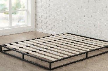 Другие кровати в Кыргызстан: Кровать из металлокаркаса Мебель можно купить в рассрочку или в кредит