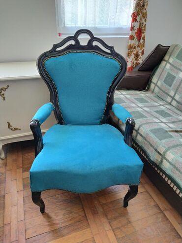 Neo barok fotelja potpuno restaurirana