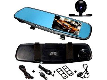Auto oprema - Nis: Rikverc kamera + prednja kamera 1080p 2 u 1 auto dvr kamera sa