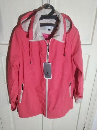 Куртки - Сокулук: Женская куртка ветровка новая Размер 50/52