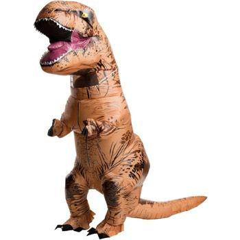 Надувной костюм динозавра T-rexКлассика ютуба и угара! Отличный