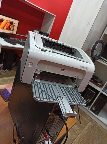 hp 131 c8765he chernyj kartridzh в Кыргызстан: Лазерный принтер HP laserjet p1102Новый картридж. Мото центр3 этаж