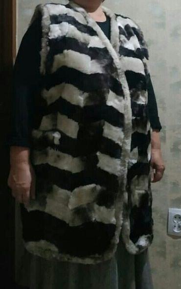 Продаю жилет из мутона, натуральный, размер 56 в Бишкек