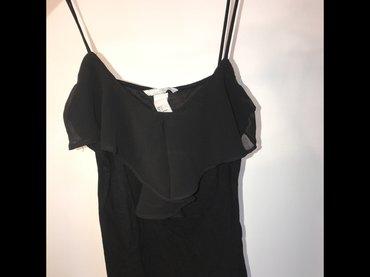 Crna uska majica, xs broj - Pancevo
