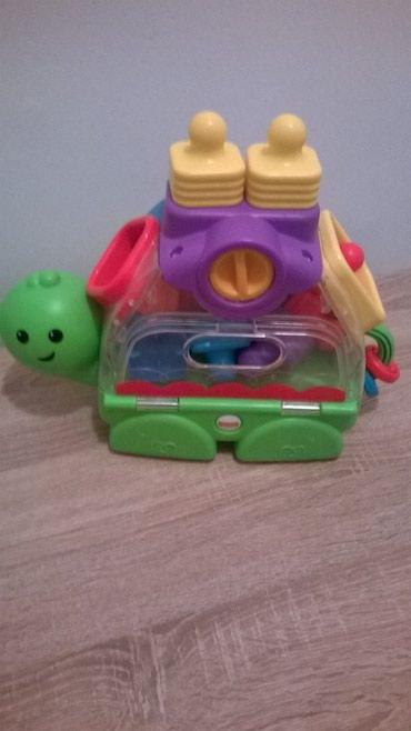 Igračke | Kragujevac: Fisher price kornjaca namenjena za razvoj senzo-motorickih sposobnosti