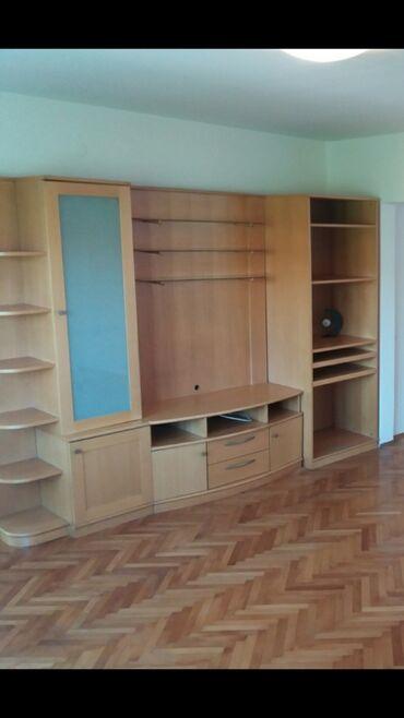 Pamuk sa elastinom udobn - Srbija: Dužina oko 3 m, iz 4 dela,centralni deo za tv sa tri staklene