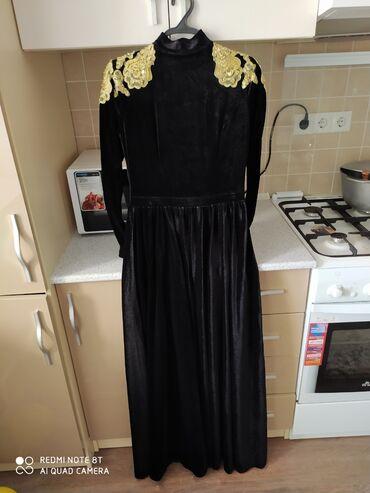r 44 46 в Кыргызстан: Очень красивое и удобное платье, размер 44-46, одевала 1 раз, можно
