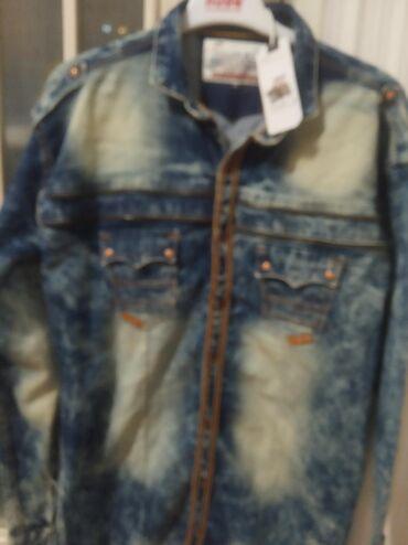 Прод новую джинсовую стрейчовую рубашку.из Дубая.разм 46-48