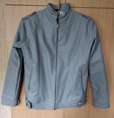 Кожаная женская куртка/кожанка/коженка/кожак подойдет на 46-48 размер