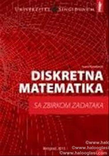Časovi Diskretne matematike studentima fakulteta : Singidunuma, Više