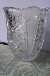 Хрусталь чехия, ваза новая
