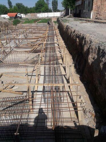 Бетонные работы - Кыргызстан: Монолит куйганга бригада керек срочно. 9 этаж үй. 5000 м.кв материалы