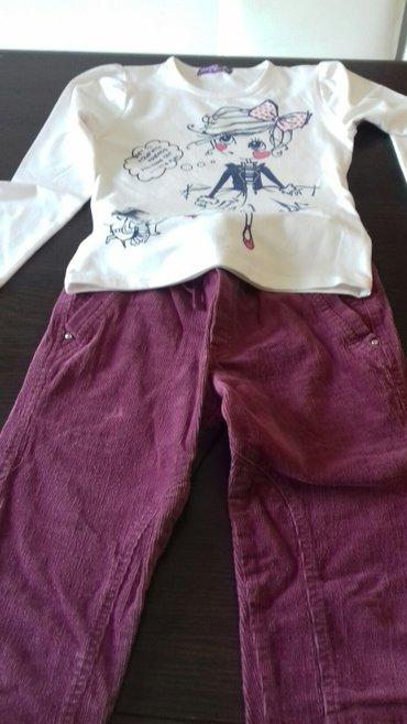 Pantalone od somota i dukserica veličina 10 - Pozarevac