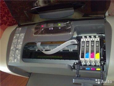 Продаю принтер цветной на 4 картриджа. Принтер 4х цветный струйный