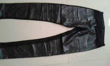 Pantalone-italijinemaju-elastin - Srbija: Pantalone kozne pizadi pamuk elastin velicine xs s m