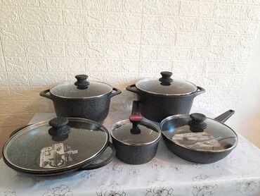 настольная плита мечта в Кыргызстан: Кастрюли  Качество супер   Цена за набор  Если хотите по отдельности т