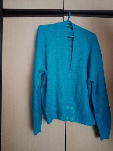 Ženski ručno rađen džemper,univerzalna veličina