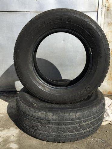 Продаются: 1. Bridgestone Dueler H/L 245/65 R17 M+S 1 в Бишкек