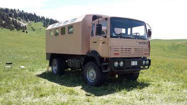 Грузовой и с/х транспорт в Кыргызстан: Продается Автодом на базе полноприводного грузового Рено 1993 г.в