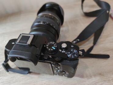 ретро фотоаппарат зенит в Кыргызстан: Продаю Sony a7  Состояние идеальное, полнокадровая матрица. За подробн