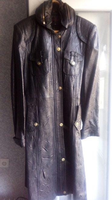 Новый плащ-пальто. Натуральная кожа. в Бишкек
