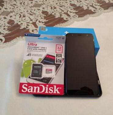 Samsung Galaxy J6 Plus | 32 GB | qara | İşlənmiş | Barmaq izi, İki sim kartlı, Face ID