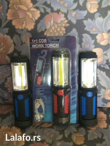 Baterijska led lampa  w-lwl 6-30 pogodna za upotrebu u zatvorenim pro - Pirot