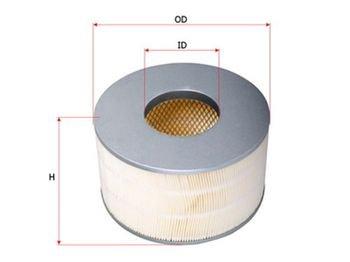 alfa romeo 145 1 4 mt - Azərbaycan: Hava filteri  TOYOTA LAND CRUISER 100 4.2TD/3.0D-4D  Hava Filteri Saku