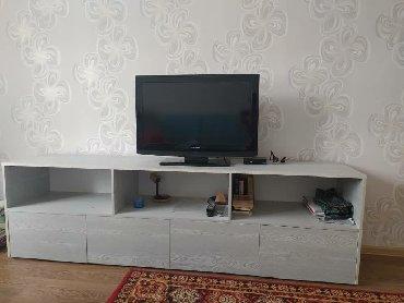 в прикроватной тумбочке хранятся в Кыргызстан: Тумбочка стационарная под телевизор на заказ а также в наличии