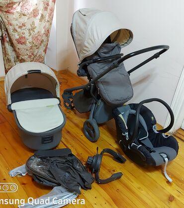 бежевые кюлоты в Кыргызстан: Продаю коляску 3в1,Англия,Mamas and Papas. разумный торг  Цвет серо-,б