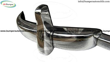 Mercedes W186 300, 300b and 300c year (1951-1957) bumper stainless in Amargadhi  - photo 2