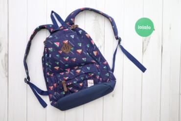 Другие товары для детей - Украина: Дитячий синій рюкзак з корабликами бренду Favor    Довжина: 43 см Шири
