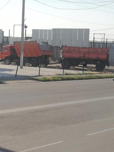 Водитель на Камаз с прицепом в Бишкек