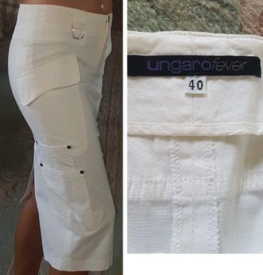 Ungaro fever original bela suknja. Duza ispod kolena, uska, savrseno - Belgrade