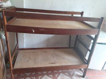 Двухярусная детская кровать, не громоздкая, очень удобная в экономии