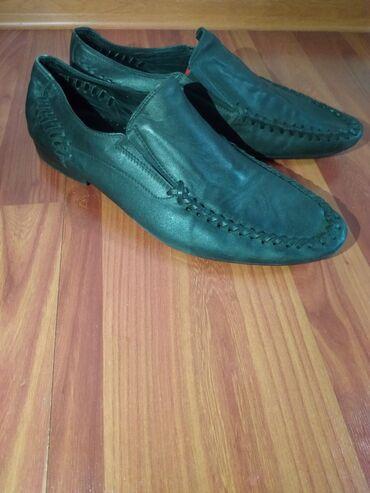 Кожанные туфли 42 размер. Цена 1200