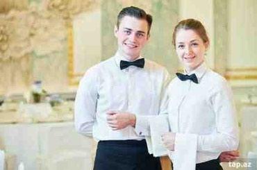 ofisant teleb olunur - Azərbaycan: Hotele Ofisant Xanım və Bey Teleb Olunur Emek Haqqı 300 azn İş Qrafiki