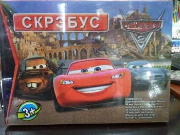 Скрэбус настольная игра в Бишкек