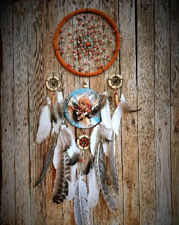 деревянные игрушки ручной работы в Кыргызстан: Продаю большой ловец - оберег от плохих снов около 80 см. Ручная