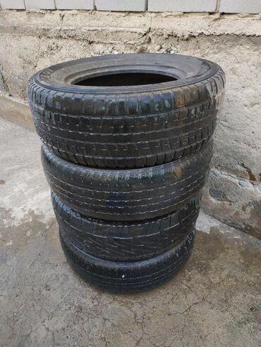 мир шин бишкек в Кыргызстан: Продаю комплект шины в хорошем состоянии GX LX + ТОРГРазмер 265/65 R17
