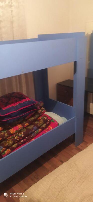 usaq ucun iki mertebeli kravat в Кыргызстан: Продаю детский двухэтажный кровать Бишкекте