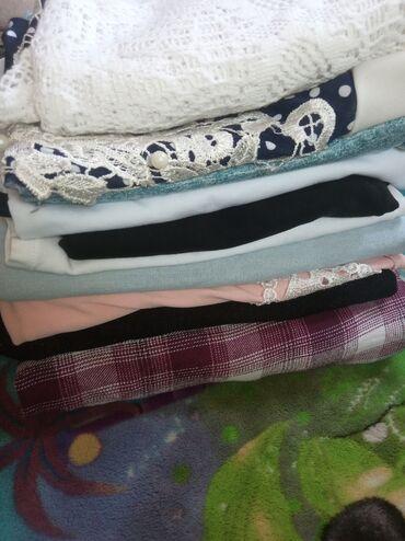 Женская одежда - Мыкан: Почти новые вещи состояние на 5 можно на выход 42-44 размер одам за