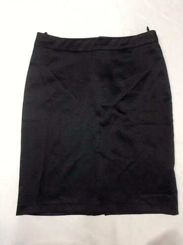 Атласная мини юбка для модниц