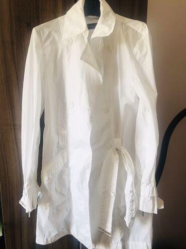 Женская одежда - Милянфан: Шикарный белый тренч дождевик.Италия.Размер 44.Бренд Caractere