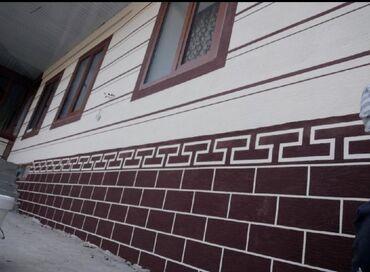жидкий травертин бишкек в Кыргызстан: Фасады жидкий травертин текстуры декор баарын сапаттуу келишим баада